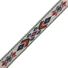 Woven Braid-hitched 5Ft 0.75in/19mm White/black